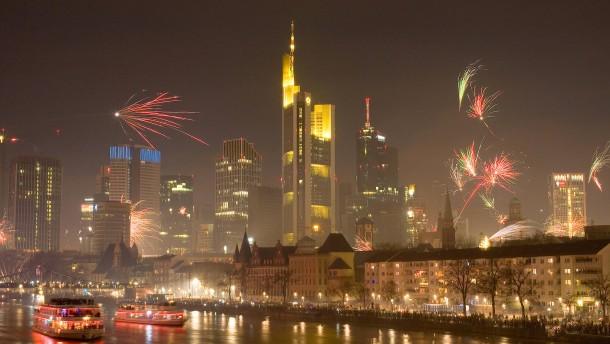 Waffenverbotszonen in Frankfurt zum Jahreswechsel