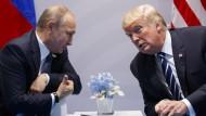 Eine Kooperation beim Thema Cyberangriffe? Wladimir Putin und Donald Trump hatten die Idee beim G-20-Gipfel in Hamburg ins Spiel gebracht.