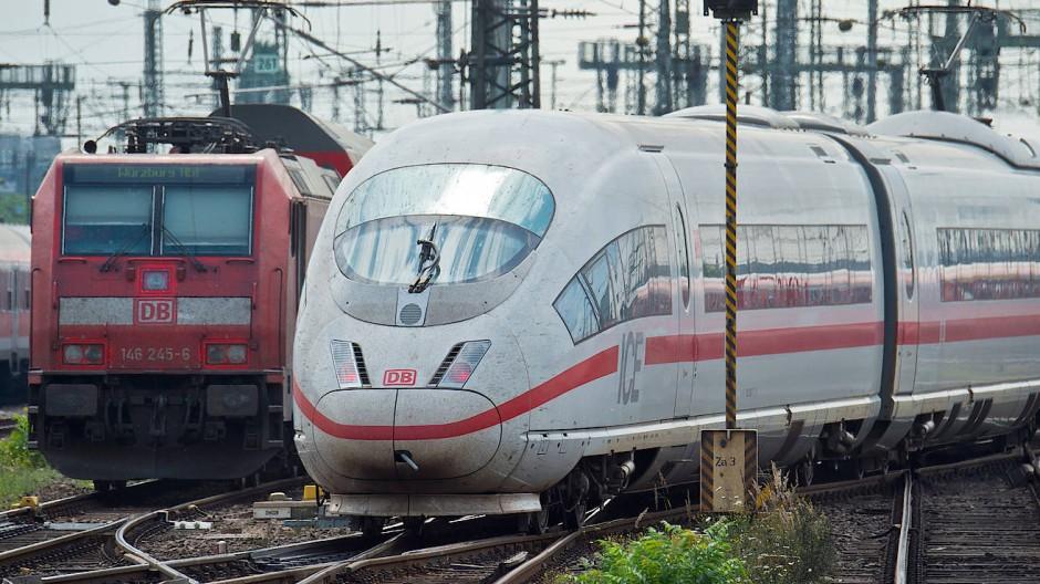 Ein neuer Tunnel soll Entlastung bringen: Das Gleisvorfeld des Frankfurter Hauptbahnhofs.