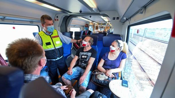 Bahn will Maskenmuffel schärfer kontrollieren