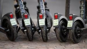 Polizei plant gezielte Kontrollen von E-Scootern