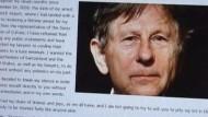 Polanski meldet sich zu Wort
