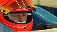 Michael Schumacher testete ohne Probleme