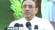 Bhuttos Witwer wird Präsident