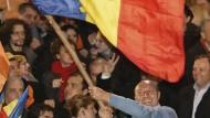 Basescu gewinnt Präsidentenwahl