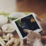 Dank der Blockchain kann das Essen mit der App verfolgt werden.