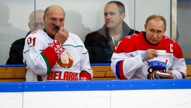 WM auf den Knochen des belarussischen Volkes?