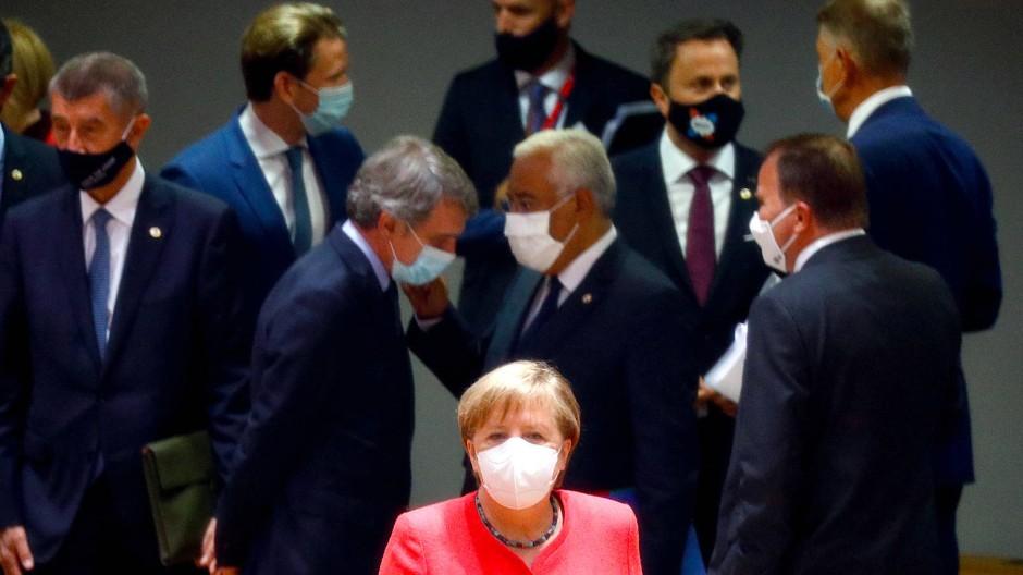 Die Ergebnisse des EU-Gipfels werden in Deutschland als Erfolg bezeichnet.