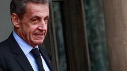 Sarkozy zu Haftstrafe verurteilt