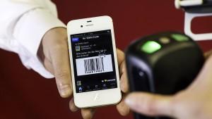 Mit dem Handy bezahlen kommt in Mode