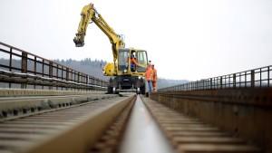 Bahnpendlern droht das Baustellenchaos