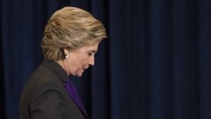 Clinton gibt FBI-Chef Mitschuld an Niederlage