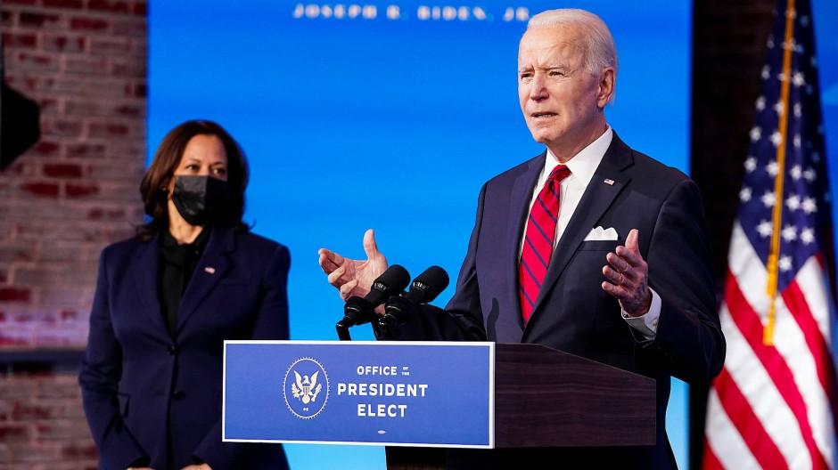 Mit dem Team Biden-Harris stehen nach vier Jahren ohne viel Star-Power im Weißen Haus die Zeichen wieder auf Hollywood.