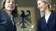 Köhler ernennt die junge Köhler - und entlässt Jung