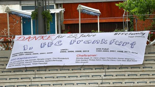 1. FFC Frankfurt ist Geschichte