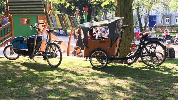 Lastenrad statt Auto