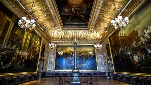 Schloss Versailles macht wieder auf