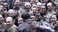 Obama dankt amerikanischen Soldaten