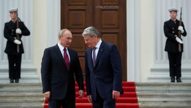 Kanzleramt verärgert über Bundespräsident Gauck