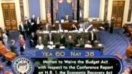 Kongress beschließt amerikanisches Konjunkturprogramm