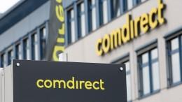 Commerzbank rutschen kräftig, Comdirect steigen