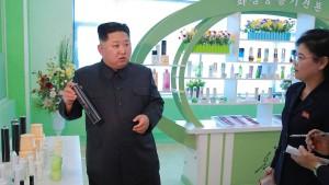 Kim Jong-un kümmert sich persönlich um die Schönheit