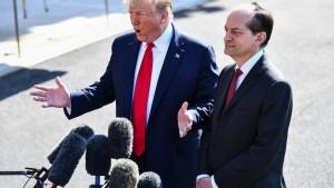 Trumps Arbeitsminister tritt wegen Epstein-Skandals zurück