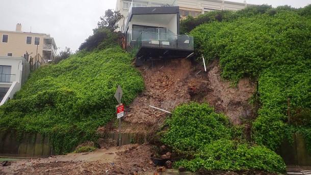 Starkregen verursacht Naturkatastrophe
