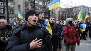 Ukraine bittet Westen um Vermittlung