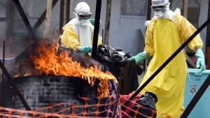 Liberias stellvertretende Gesundheitsministerin unter Ebola-Quarantäne