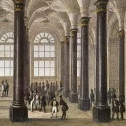 Von 1843 an hatte die Frankfurter Börse endlich ein eigenes Dach über dem Kopf: Die alte Börse am Paulsplatz.