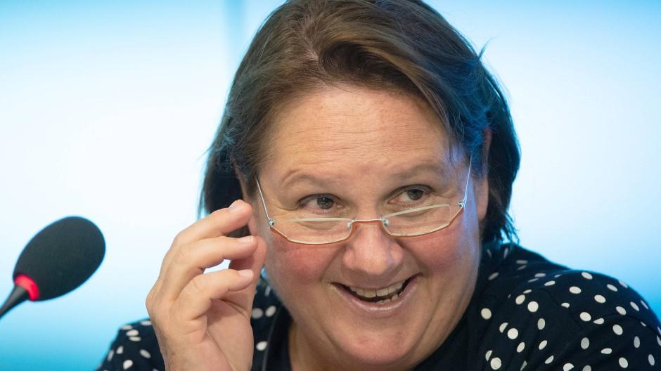 Baden-Württembergs Kultusministerin Theresa Schopper