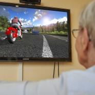 Senioren können mit ernsthaften Videospielen ihre kognitiven und motorischen Fähigkeiten schulen.