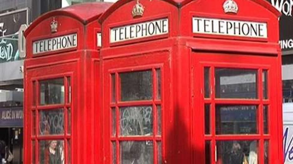 Neues Leben für berühmte Telefonzellen