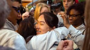 Schülerin Bivsi nach Deutschland zurückgekehrt