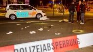 Polizei erschießt Messer-Angreifer