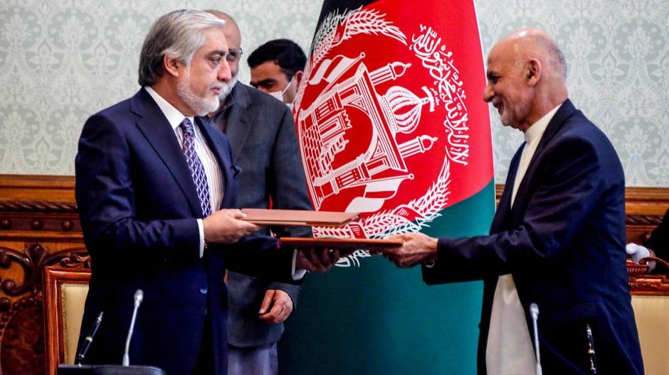 Ghani und Abdullah einigen sich auf Machtteilung