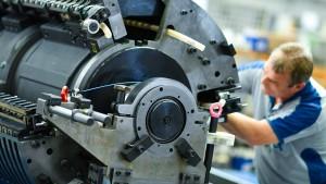Trübe Zeiten im deutschen Maschinenbau