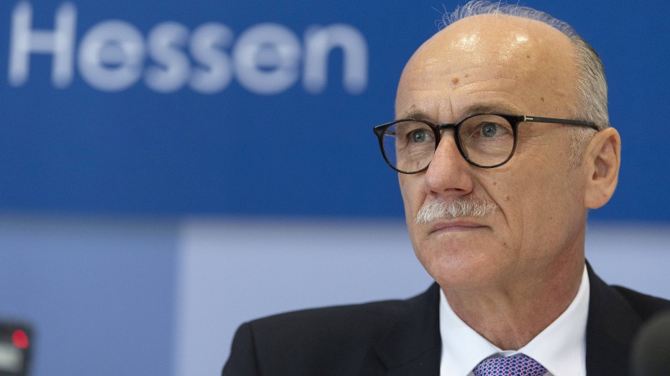Robert Schäfer ist Präsident des hessischen Verfassungsschutzes.