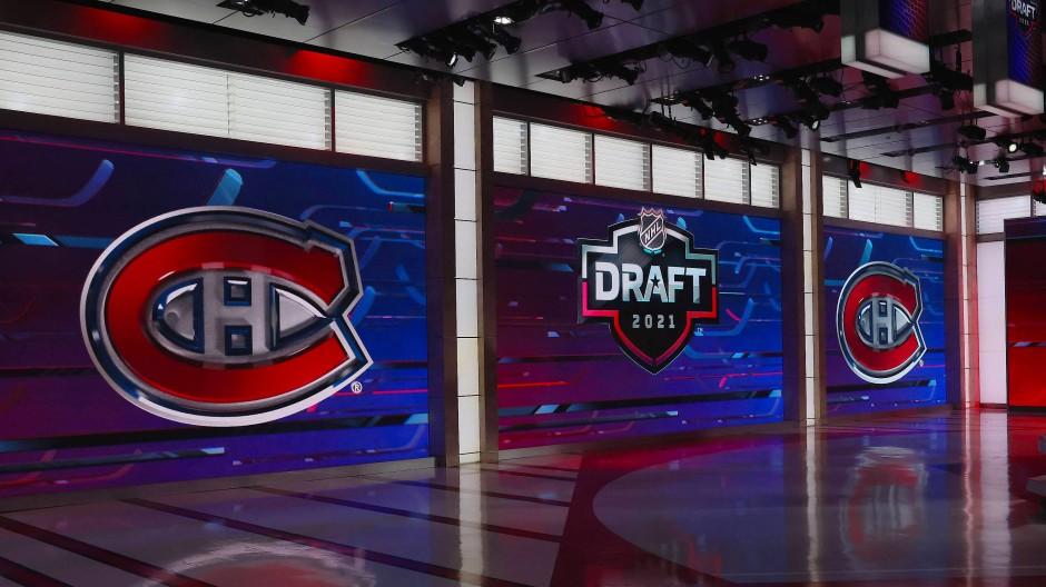 Die Montreal Canadiens haben sich in der ersten Runde für Logan Mailloux entschieden.