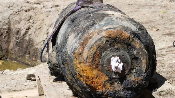 Weltkriegsbombe gefunden