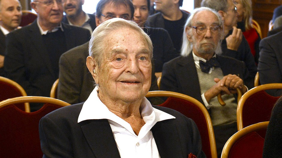 George Soros bei einer Ehrung im November 2019 in Wien