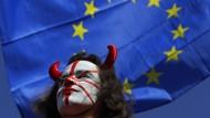 Brexit-Gegner protestieren in London