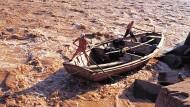 Kraft der Jahrtausende: Bootsmänner auf dem Gelben Fluss