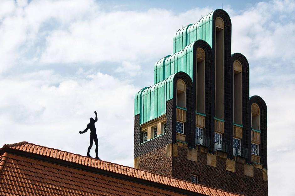 Potentielles Unesco-Weltkulturerbe: die Künstlerkolonie Mathildenhöhe in Darmstadt