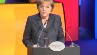 Merkel zur Eröffnung der Buchmesse