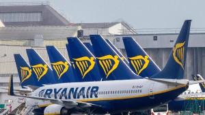 Ryanair streicht seinen Flugplan zusammen