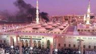 Frevelhaft: Der Anschlag auf die Prophetenmoschee in Medina am Montag