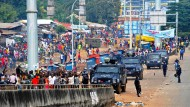 Ausschreitungen in Guinea