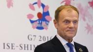 EU fordert Führungsrolle der G7 bei der Flüchtlingshilfe